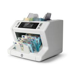 """Masina de numarat bancnote, SAFESCAN 2650, cu functii """"add"""" & """"batch"""", 3 puncte de detectare a falsurilor si 3 viteze de numarare"""