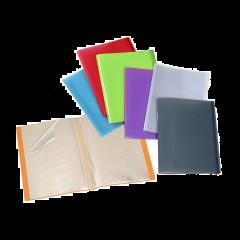 Mapa pentru prezentare Viquel standard,  10 file, diverse culori
