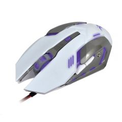 Xzero Mouse gaming X-M372WA 3200DPI alb