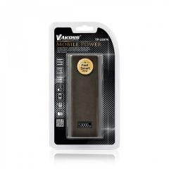 Vakoss Baterie externa 13000 mAh Metalic negru