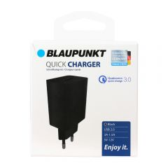 Blaupunkt Incarcator rapid  USB 2.0 negru