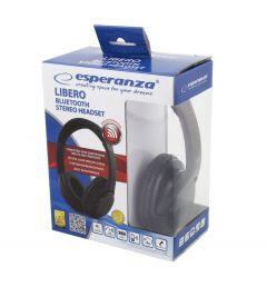 Esperanza casti bluetooth stereo cu microfon, negru