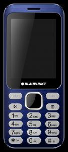 Blaupunkt FL 02, Dual Sim ,Taste Mari, Albastru