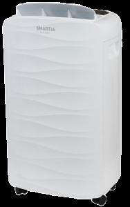 Dezumidificator de aer Turbionaire Smart 16 Eco - 16 l/24h, Garantie 3 ani, Panou de control digital , 130mc/h, Higrostat incorporat, Timer, Auto Restart, Filtru lavabil, Silentios
