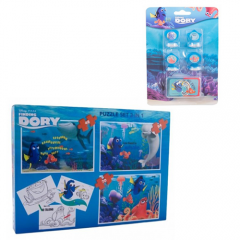 Puzzle 3 in 1 Dory + Set 4 stampile Dory