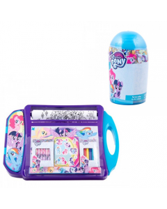 Set de colorat portabil My Little Pony + Spray marker 24 culori My Little Pony