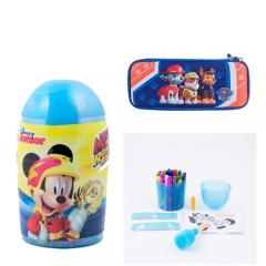 Spray marker 24 culori Mickey + Penar 3D Paw Patrol