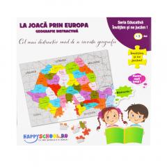 La joaca prin Europa Happyschool TOF-XP14
