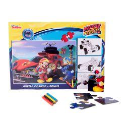 Puzzle 24 piese + Bonus Mickey - MYM-XP05 Happyschool