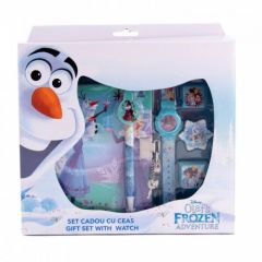 Set agenda cu cadou ceas Frozen Happyschool