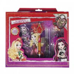 Set agenda cu instrumente de scris Ever After High Happyschool - EAH4915