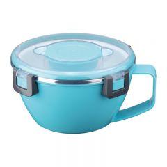 Recipient pentru transporul alimentelor, interior inox, 0.8 l, Petrhof PH-12430, Albastru