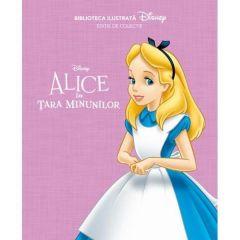Biblioteca ilustrata Disney: Alice in Tara Minunilor - Editie de colectie