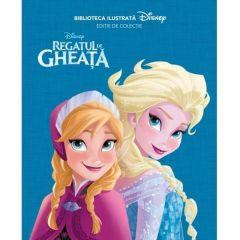 Biblioteca ilustrata Disney: Regatul de gheata - Editie de colectie
