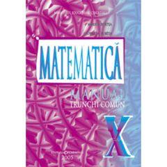 Matematica cls 10 Tc - Marius Burtea, Georgeta Burtea