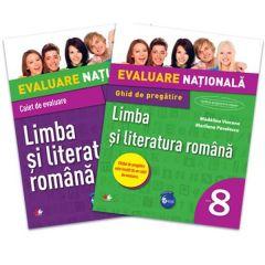 Evaluare nationala Limba si literatura romana Cls 8 + Ghid pregatire - Madalina Vincene