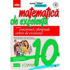 Matematica de excelenta - Clasa 10 - Pentru concursuri, olimpiade si centre de excelenta - Dana Heuberger, Nicolae Musuroia