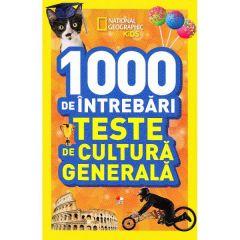 1000 de intrebari Teste de cultura generala vol.5 - National Geographic Kids