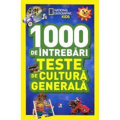 1000 de intrebari Teste de cultura generala vol.6 - National Geographic Kids