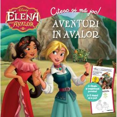 Disney Elena din Avalor - Aventuri in Avalor - Citesc si ma joc!