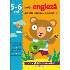 Activitati ingenioase si educative: Invat engleza 5-6 ani