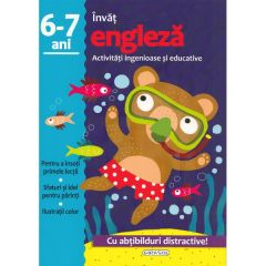Activitati ingenioase si educative: Invat engleza 6-7 ani