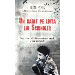 Un baiat pe lista lui Schindler (ed. de buzunar) - Leon Leyson