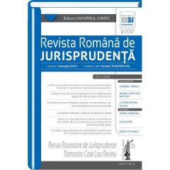 Revista romana de jurisprudenta 1 din 2017 - Gheorghe Buta, Nicoleta Tandareanu