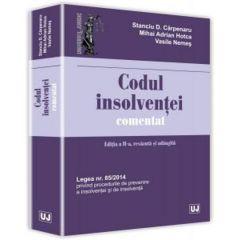 Codul insolventei comentat ed.2 - Stanciu D. Carpenaru, Mihai Adrian Hotca, Vasile Nemes