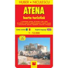 Atena - Harta turistica