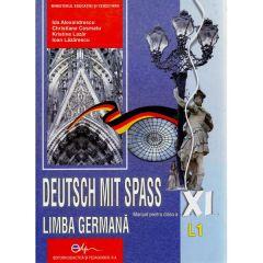 Manual germana clasa 11 L1 - Deutsch mit spass -Ida Alexandrescu, Christiane Cosmatu, Kristine Lazar, Ioan Lazarescu