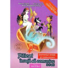 Piticot invata sa comunice 3-5 ani - Adina Grigore