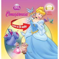 Disney - Cenusareasa (format mic) + Cd Audio (Lectura: Stela Popescu)