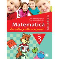 Matematica Cls 3 Exercitii, probleme si jocuri - Victoria Paduraru