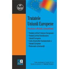 Tratatele Uniunii Europene Act. 6 Aprilie 2015