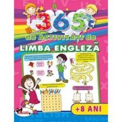 365 de activitati de limba engleza +8 ani - Lata Seth, Anuj Chawla