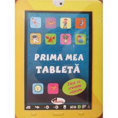 Prima mea tableta - Jocul cu creioane colorate