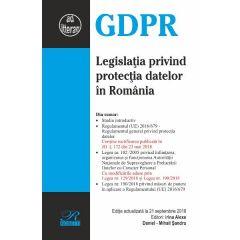 Legislatia privind protectia datelor in Romania