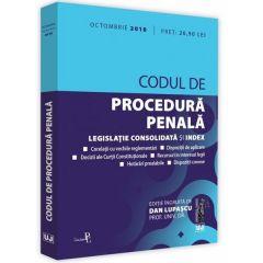 Codul de procedura penala. Octombrie 2018 - Dan Lupascu
