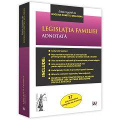 Legislatia familiei adnotata - Bogdan Dumitru Moloman