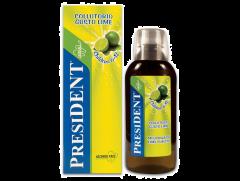 Apa de gura President Children copii +6 ani aroma Lime