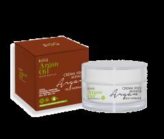 Crema de fata hidratanta Bio anti-age Argan Oil BioQ ten normal 50ml