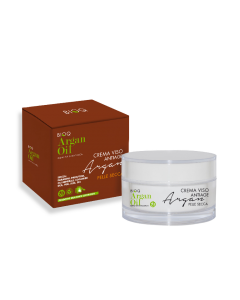 Crema de fata hidratanta Bio anti-age Argan Oil BioQ ten uscat 50ml