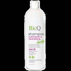 Sampon Bio nutritiv si reparator BioQ Ulei de Argan si Masline 300ml
