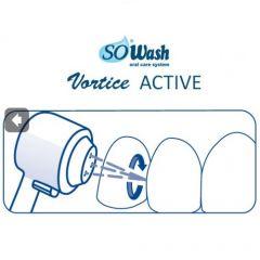 Set 2 accesorii Hidropulsor So Wash, 3 jeturi hidropulsate ideale pentru masaj gingival