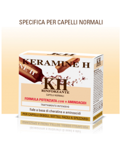 Tratament Cheratina reconstructie avansata fire par Keramine H 10 fiole x 10ml
