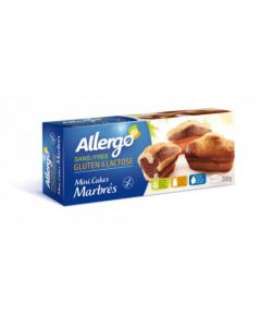 Mini chec marmorat 230g Allergo fara gluten & lactoza