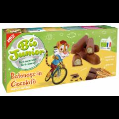Biscuiti Eco Batonase cioco cu lapte 125g Bio Junior