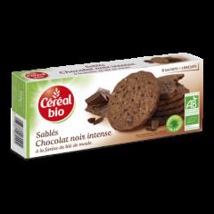 Biscuiti Ciocolata Neagra 132g Cereal Bio