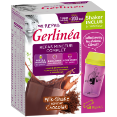 Shake Ciocolata 150g + Shaker Gerlinea